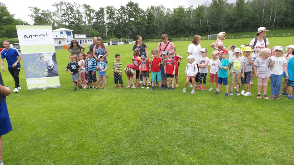 Kindergartenfußballfest 2019