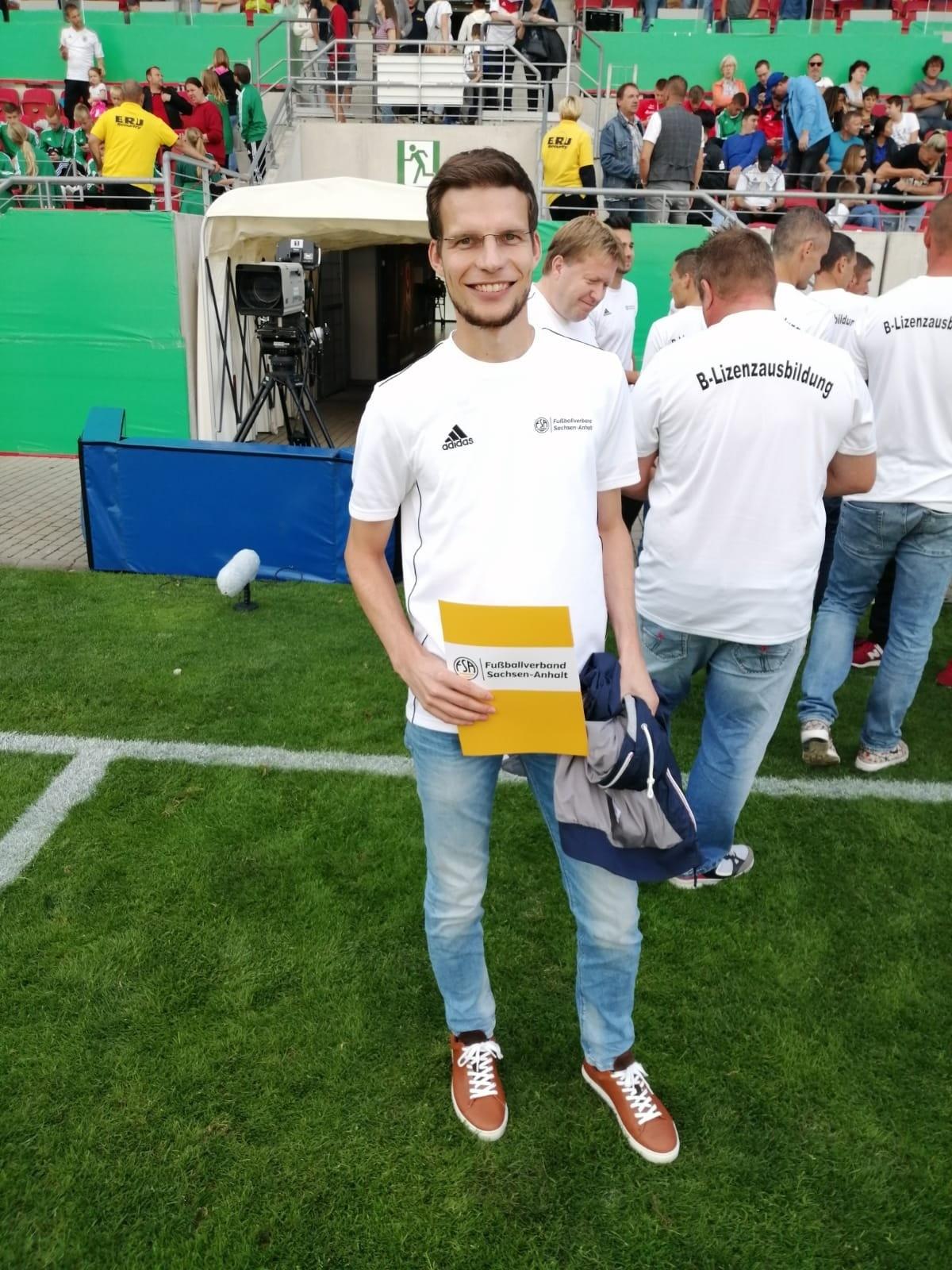 Unser neuer B-Lizenz Trainer Markus